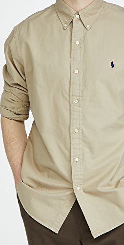 Polo Ralph Lauren - Long Sleeve Garment Dyed Oxford Shirt