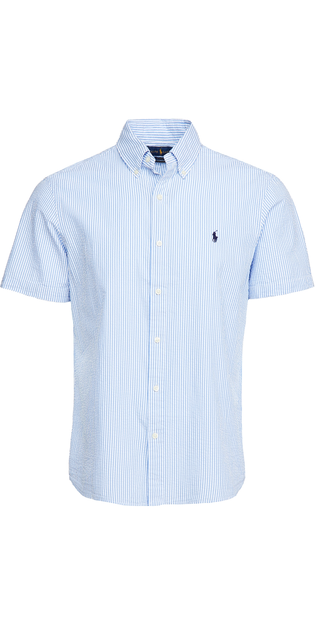 Polo Ralph Lauren Short Sleeve Seersucker Shirt