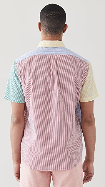 Polo Ralph Lauren Short Sleeve Seersucker Fun Shirt