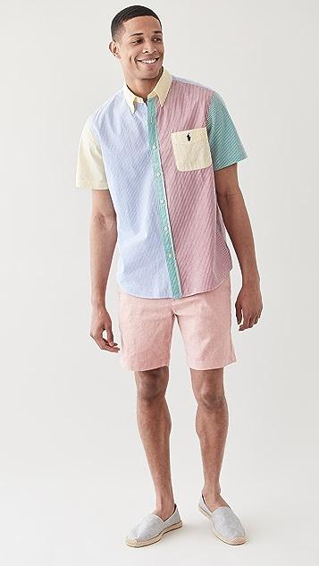 Polo Ralph Lauren Short Sleeve Seersucker Fun Shirt