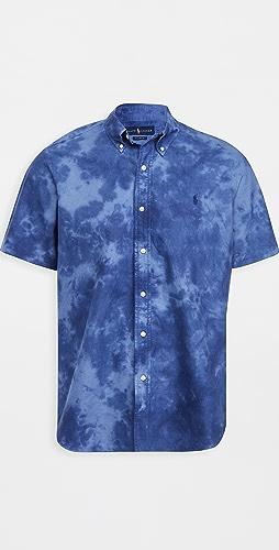 Polo Ralph Lauren - Tie Dye Short Sleeve Oxford Shirt