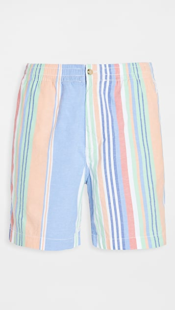Polo Ralph Lauren Oxford Multi Stripe Prepster Shorts
