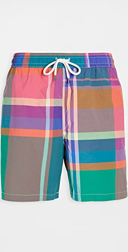 Polo Ralph Lauren - Oversized Madras Swim Trunks