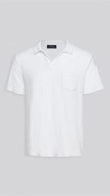 Polo Ralph Lauren Terry Cotton Polo Shirt