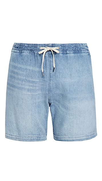 Polo Ralph Lauren Washed Denim Prepster Shorts