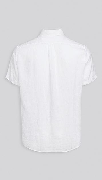Polo Ralph Lauren Short Sleeve Linen Shirt
