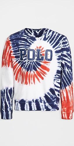 Polo Ralph Lauren - Americana Tie Dye Crew Neck Sweatshirt