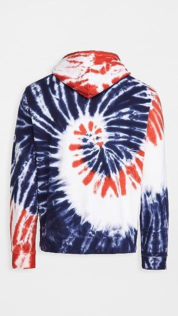 Polo Ralph Lauren Americana Tie Dye Hoodie