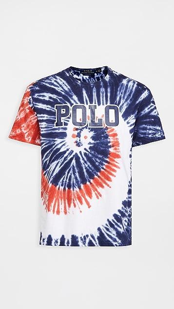 Polo Ralph Lauren Americana Tie Dye T-Shirt