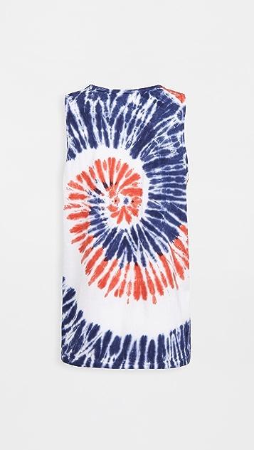 Polo Ralph Lauren Americana Tie Dye Tank Top