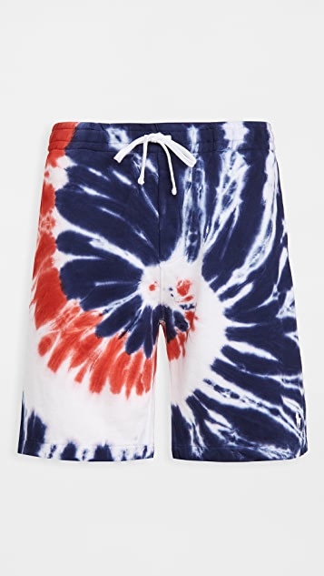 Polo Ralph Lauren Americana Tie Dye Shorts