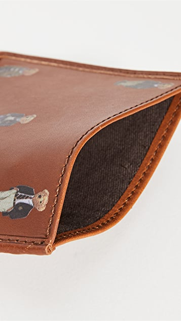 Polo Ralph Lauren Allover Bear Credit Card Holder