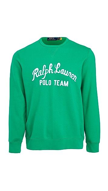 Polo Ralph Lauren Long Sleeve Pullover Sweatshirt