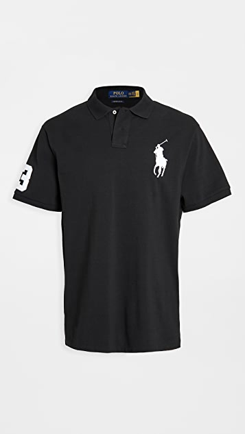 Polo Ralph Lauren Big Pony Mesh Custom Slim Fit Polo