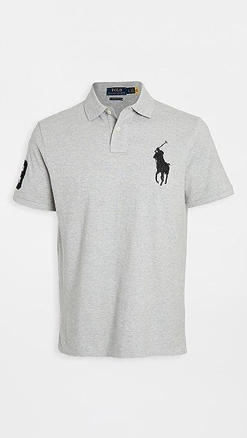 Polo Ralph Lauren Big Pony Mesh Custom Slim Fit