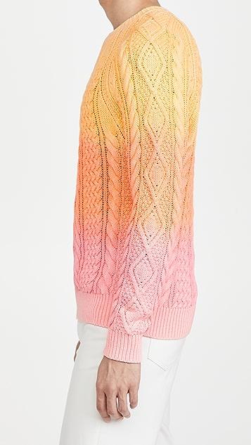 Polo Ralph Lauren Cotton Cable Aran Sweater