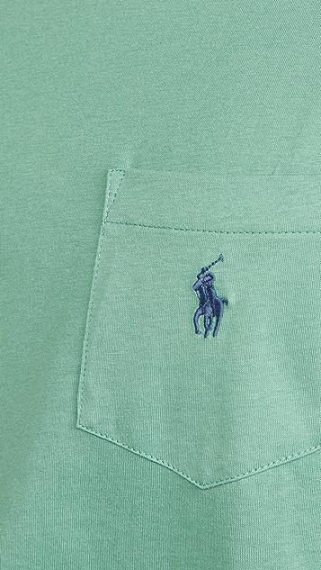 Polo Ralph Lauren Solid Pocket Tee