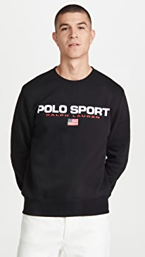폴로 랄프로렌 맨투맨 Polo Ralph Lauren Polo Sport Icons Sweatshirt,Polo Black