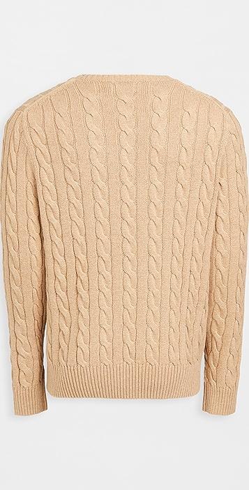 Polo Ralph Lauren Cotton Cable Sweater