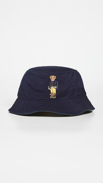 Polo Ralph Lauren Bear Loft Bucket Hat