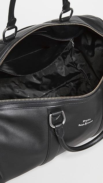 Polo Ralph Lauren Leather Duffle Bag