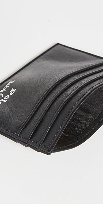 Polo Ralph Lauren Embroidered Billfold Card Case