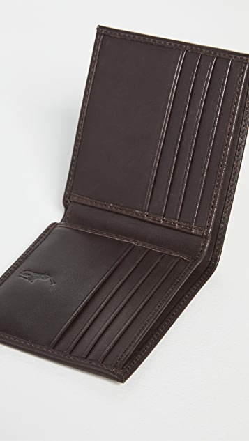 Polo Ralph Lauren Embroidered Billfold Wallet