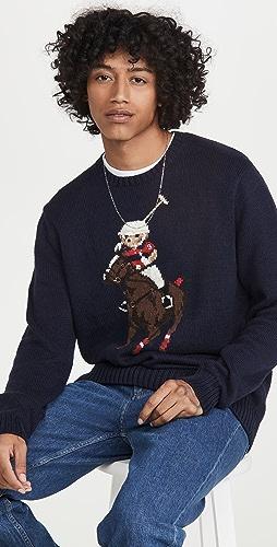 Polo Ralph Lauren - Riding Polo Bear Sweater