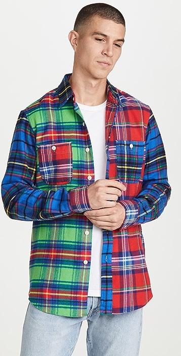 Polo Ralph Lauren Multi Plaid Fun Shirt