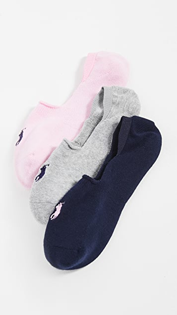 Polo Ralph Lauren Sneaker Liner 3 Pack