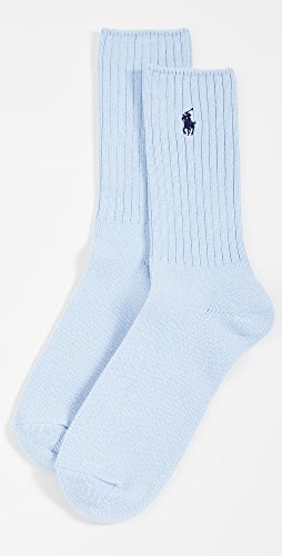 Polo Ralph Lauren - Solid Cotton Rib Socks
