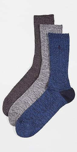 Polo Ralph Lauren - Supersoft Ragg Crew Sock 3 Pack