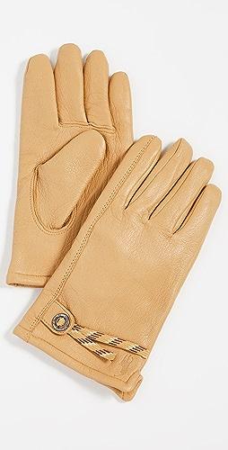Polo Ralph Lauren - Knit Lined Full Grain Leather Gloves