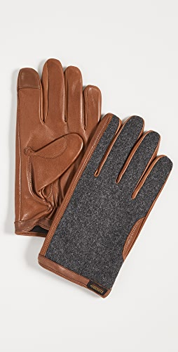 Polo Ralph Lauren - Wool and Leather Hybrid Gloves
