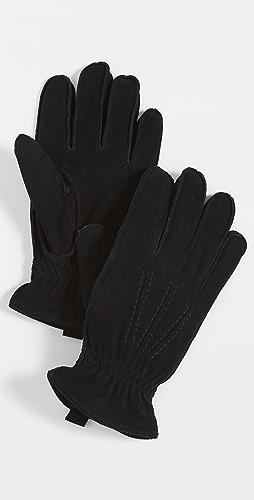 Polo Ralph Lauren - Water Repellent Deer Suede Gloves