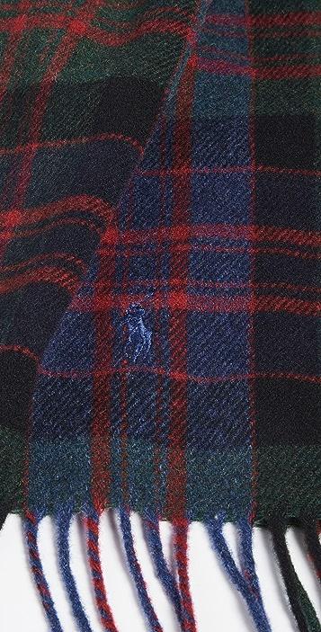 Polo Ralph Lauren Greenwich Plaid Scarf