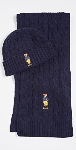 Polo Ralph Lauren - Classic Cable Bear Gift Set