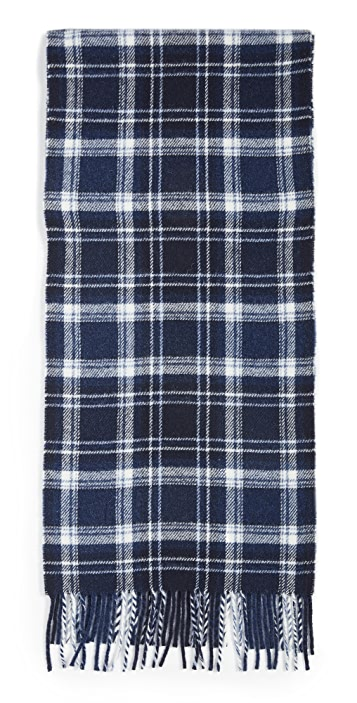 Polo Ralph Lauren Recycled Flannel Plaid Scarf