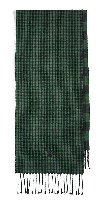 Polo Ralph Lauren Reversible Check Scarf