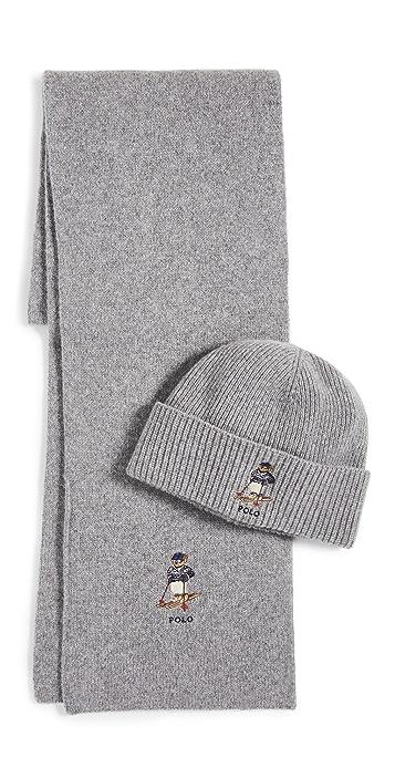 Polo Ralph Lauren Sweater Bear Gift Set