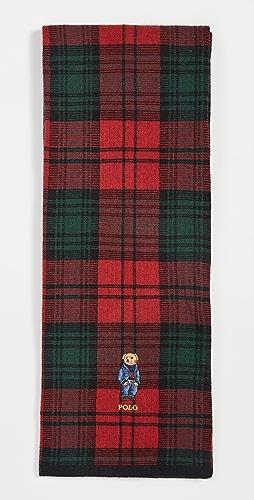 Polo Ralph Lauren - Tartan Bear Knit Scarf