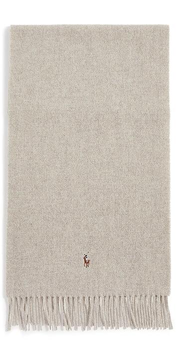Polo Ralph Lauren Signature Italian Virgin Wool Scarf