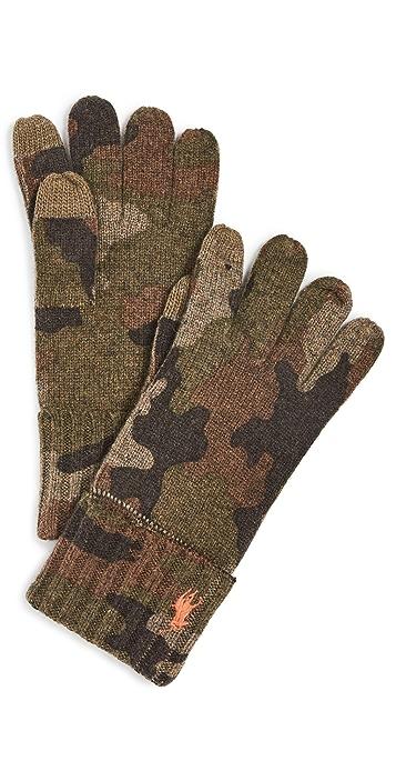 Polo Ralph Lauren Camo Touch Gloves
