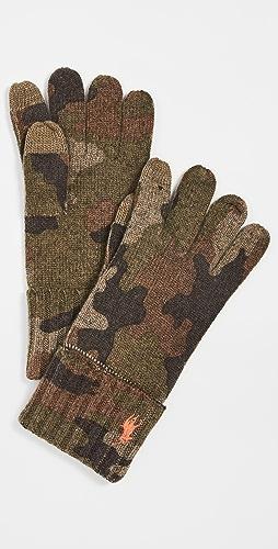 Polo Ralph Lauren - Camo Touch Gloves