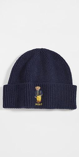 Polo Ralph Lauren - Solid Preppy Bear Beanie