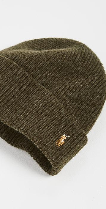 Polo Ralph Lauren Signature Cuff Hat