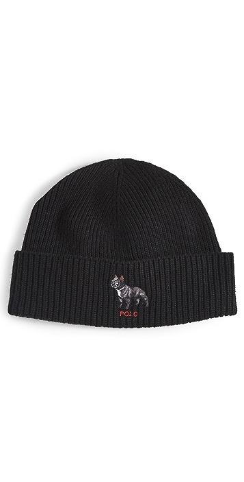 Polo Ralph Lauren French Bulldog Cuff Hat