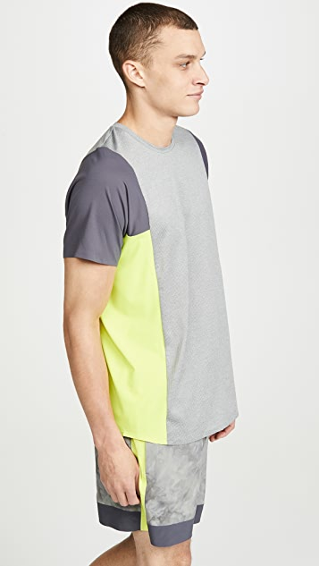Robert Geller x lululemon Take The Moment Short Sleeve Tee Shirt