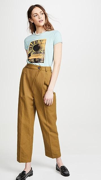 Runway Marc Jacobs 小肩袖圆领 T 恤