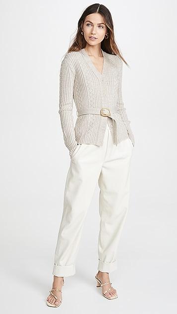 Runway Marc Jacobs V 领开襟羊毛衫